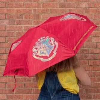 Harry Potter Hogwarts colour change umbrella