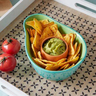 Kawaii avocado snack set